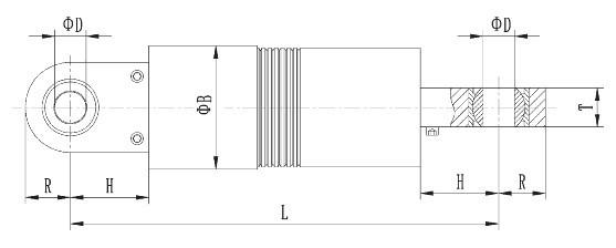 粘滞型液压阻尼器图片